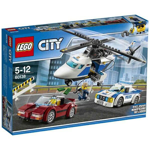 レゴ シティ ポリスヘリコプターとポリスカー 60138【新品】 LEGO 知育玩具 【宅配便のみ】