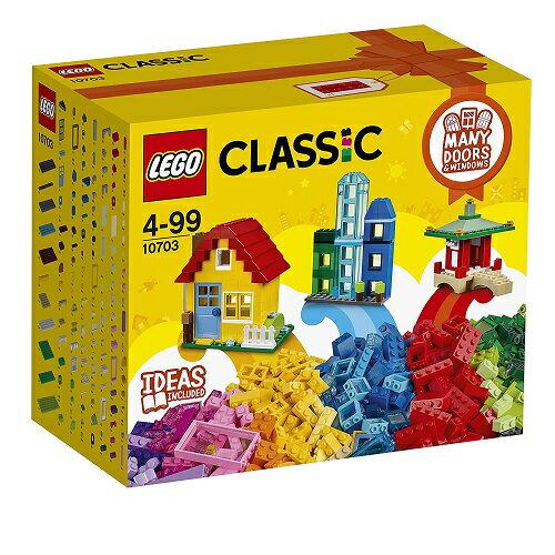 レゴ クラシック アイデアパーツ 建物セット 10703【新品】 LEGO CLASSIC 知育玩具 クリスマス プレゼント【宅配便のみ】