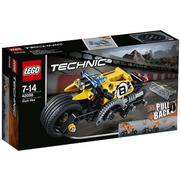 レゴ テクニック スタントバイク 42058【新品】 LEGO 知育玩具 【宅配便のみ】