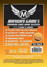 【メール便発送可】MDG-7136 カードスリーブ 54mm×80mm Premium Yucatan Narrow Card Game Sleeves(50 pack)【新品】 ボードゲーム カードゲーム アナログゲーム テーブルゲーム ボドゲ