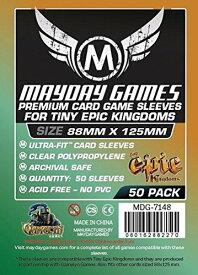 【メール便発送可】MDG-7148 カードスリーブ 88mmx125mm Premium Custom Tiny Epic Kingdoms Sleeves (pack of 50)【新品】 ボードゲーム カードゲーム アナログゲーム テーブルゲーム ボドゲ
