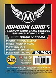 【メール便発送可】MDG-7137 カードスリーブ 55mmx80mm Premium Race! Formula 90 Card Sleeves (pack of 50)【新品】 ボードゲーム カードゲーム アナログゲーム テーブルゲーム ボドゲ