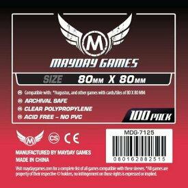 【メール便発送可】MDG-7125 カードスリーブ 80mmx80mm Medium Square Card Sleeves (pack of 100)【新品】 ボードゲーム カードゲーム アナログゲーム テーブルゲーム ボドゲ