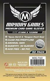 【メール便発送可】MDG-7142 カードスリーブ 61mm×103mm Premium Space Card Sleeve Space Alert【新品】 ボードゲーム カードゲーム アナログゲーム テーブルゲーム ボドゲ