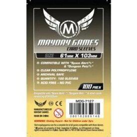 【メール便発送可】MDG-7127 カードスリーブ 61mmx103mm (100 pack)【新品】 ボードゲーム カードゲーム アナログゲーム テーブルゲーム ボドゲ