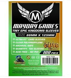 【メール便発送可】MDG-7129 カードスリーブ 88mmx125mm Custom Tiny Epic Kingdoms Sleeves (pack of 100)【新品】 ボードゲーム カードゲーム アナログゲーム テーブルゲーム ボドゲ