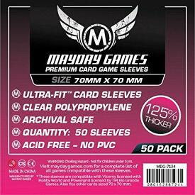 【メール便発送可】MDG-7134 カードスリーブ 70mmx70mm Premium Card Game Sleeves ULTRA-FIT【新品】 ボードゲーム カードゲーム アナログゲーム テーブルゲーム ボドゲ