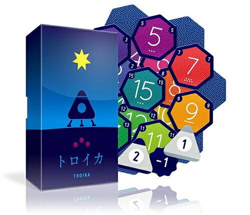 トロイカ【新品】 ボードゲーム アナログゲーム テーブルゲーム ボドゲ 【メール便不可】