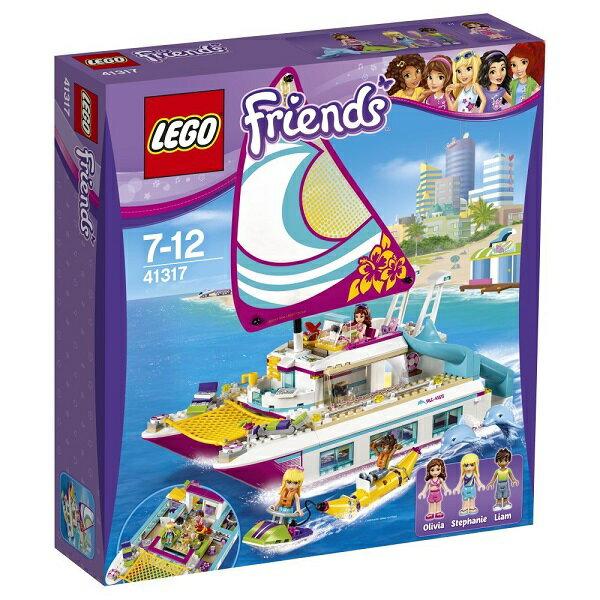 レゴ フレンズ ハートレイク ワクワクオーシャンクルーズ 41317【新品】 LEGO Friends 知育玩具 【宅配便のみ】