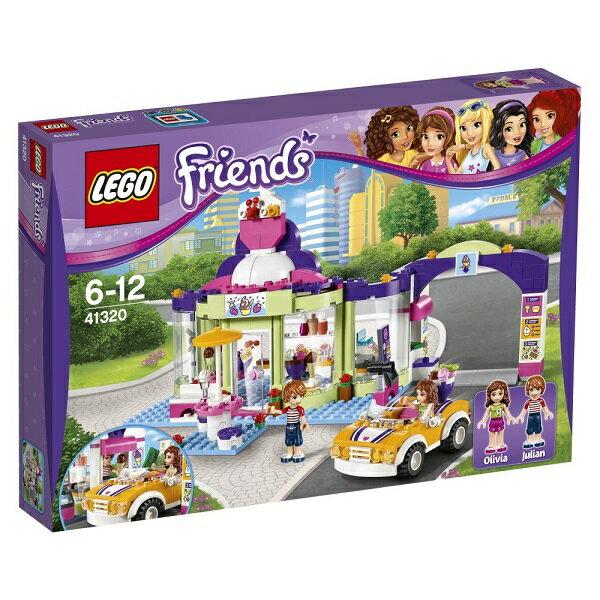 レゴ フレンズ フローズンヨーグルトショップ 41320【新品】 LEGO Friends 知育玩具 クリスマス プレゼント【宅配便のみ】