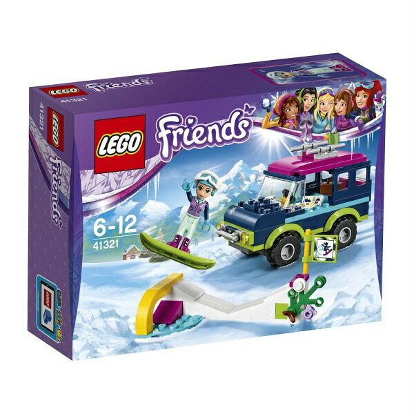 レゴ フレンズ スキーリゾート スノーボードトリップ 41321【新品】 LEGO Friends 知育玩具 【メール便不可】