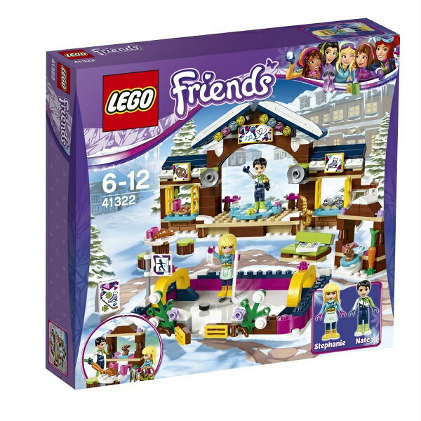 レゴ フレンズ スキーリゾート スケートリンク 41322【新品】 LEGO Friends 知育玩具 クリスマス プレゼント【宅配便のみ】