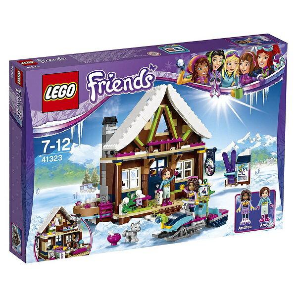 レゴ フレンズ スキーリゾート スノーロッジ 41323【新品】 LEGO Friends 知育玩具 クリスマス プレゼント【宅配便のみ】
