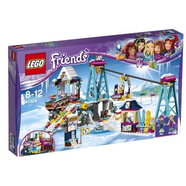 レゴ フレンズ ハートレイク キラキラスキーリゾート 41324【新品】 LEGO Friends 知育玩具 クリスマス プレゼント【宅配便のみ】