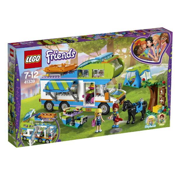 レゴ フレンズ ミアのキャンピングカー 41339【新品】 LEGO Friends 知育玩具 クリスマス プレゼント【宅配便のみ】