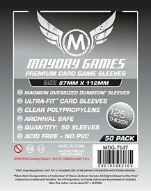 【メール便発送可】MDG-7147 カードスリーブ 87mmx112mm Premium Card Game Sleeves (50 Pack)【新品】 ボードゲーム カードゲーム アナログゲーム テーブルゲーム ボドゲ
