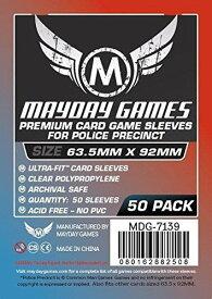 【メール便発送可】MDG-7139 カードスリーブ 63.5mmx92mm Premium For Police Precinct (50 Pack)【新品】 ボードゲーム カードゲーム アナログゲーム テーブルゲーム ボドゲ