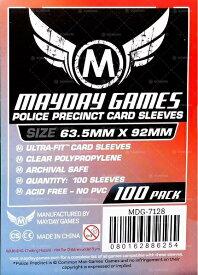 【メール便発送可】MDG-7128 カードスリーブ 63.5mmx92mm Police Precinct Card Sleeves (100 Pack)【新品】 ボードゲーム カードゲーム アナログゲーム テーブルゲーム ボドゲ
