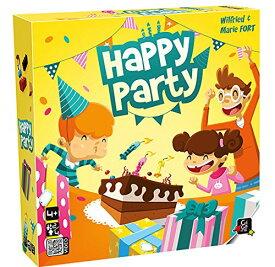 ハッピー・パーティ(Happy Party) Gigamic社製品【新品】 ボードゲーム アナログゲーム テーブルゲーム ボドゲ 【宅配便のみ】