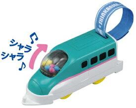 プラレール はじめてのプラレール おでかけE5系新幹線はやぶさ【新品】 タカラトミー 車両 本体 【宅配便のみ】
