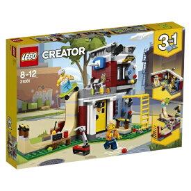 レゴ クリエイター スケボーハウス (モジュール式) 31081【新品】 LEGO 知育玩具 【宅配便のみ】