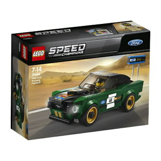 Lego speed champion 1968 Ford Mustang fastback 75884 LEGO cognitive education toy