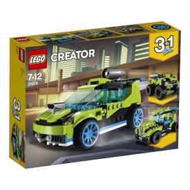 レゴ クリエイター ロケットラリーカー 31074【新品】 LEGO 知育玩具 【宅配便のみ】