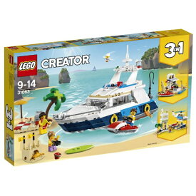 レゴ クリエイター アドベンチャークルーズ 31083【新品】 LEGO 知育玩具 【宅配便のみ】