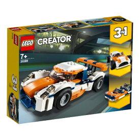 レゴ クリエイター サンセットレースカー 31089【新品】 LEGO 知育玩具 【宅配便のみ】