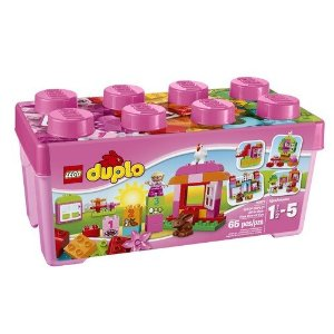 レゴ デュプロ ピンクのコンテナデラックス 10571【新品】 LEGO 知育玩具 【宅配便のみ】
