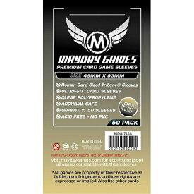 【メール便発送可】MDG-7138 カードスリーブ 49mmx93mm Premium Custom Card Sleeves【新品】 ボードゲーム カードゲーム アナログゲーム テーブルゲーム ボドゲ