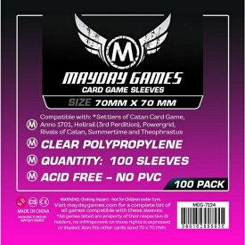 【メール便発送可】MDG-7124 カードスリーブ 70mmx70mm【新品】 ボードゲーム カードゲーム アナログゲーム テーブルゲーム ボドゲ