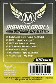 【メール便発送可】MDG-7039 カードスリーブ 41x63mm Standard Protection (100 sleeves per pack)【新品】 ボードゲーム カードゲーム アナログゲーム テーブルゲーム ボドゲ