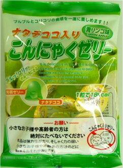 含保质期2015年3月4日natadekoko的鬼芋果冻青苹果味道12粒什么和1粒8日元