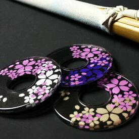 剣道 竹刀用・鍔(ツバ) 化粧つば ●二重さくらピンク