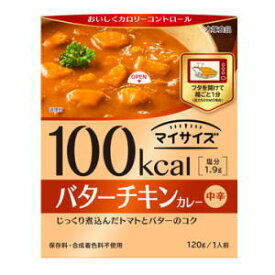 マイサイズ バターチキンカレー 1人前 120g3980円(税込)以上で送料無料