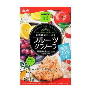 バランスアップ フルーツグラノーラ 糖質25%オフ(3枚×5袋)3980円(税込)以上で送料無料