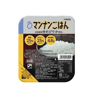 マンナンごはん マンナンヒカリの25%カロリーカットごはん 160g×24 大塚食品 送料無料(一部地域除く)