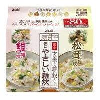リセットボディ  体にやさしい鯛&松茸雑炊 5食 (鯛3食+松茸2食) / アサヒ / ダイエット