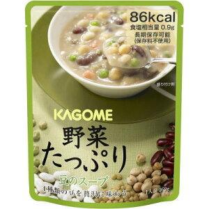 カゴメ 野菜たっぷり 豆のスープ   160g×30  非常食 保存食 長期保存 【栄養】