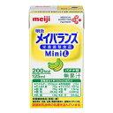 明治 メイバランス Mini L バナナ味 125ml x 24本 【送料無料 (北海道・沖縄除く)】