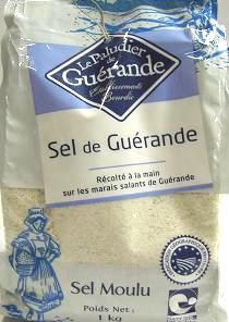 5袋で送料無料(一部地域除く) ゲランドの塩 1kg / 塩 / しお / 顆粒