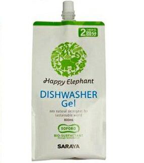 ハッピーエレファント 食器洗い機用洗剤 ジェル 詰替 800ml