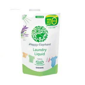 ハッピーエレファント 液体洗たく用洗剤 詰替720ml