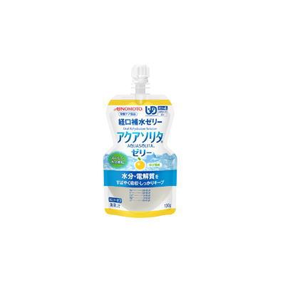 ネスレ アクアソリタゼリー ゆず風味  130g x 6 【栄養】