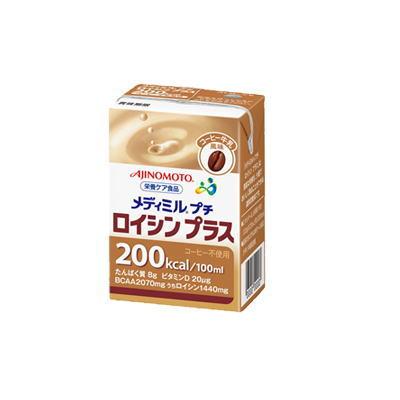 ネスレ メディミルプチロイシンプラス コーヒー牛乳風味  100ml x 15 【栄養】