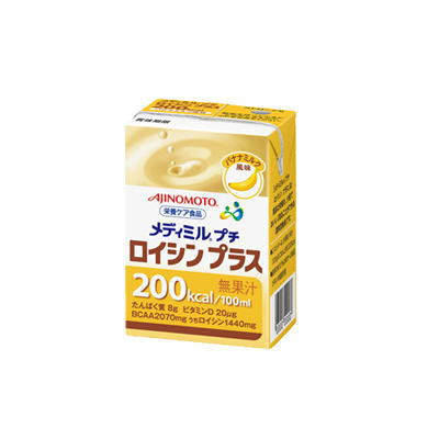 ネスレ メディミルプチロイシンプラス バナナミルク風味  100ml x 15 【栄養】