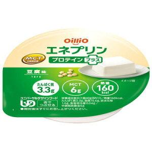 日清オイリオ エネプリン プロテインプラス+ 豆腐味 40g×24個  MCT プロテイン とうふ味 【栄養】