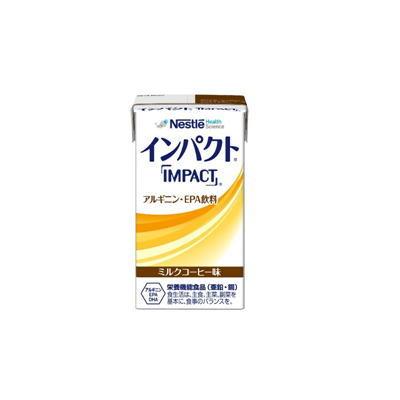 ネスレ インパクト  紙パック  ミルクコーヒー味  125ml x 24 【栄養】