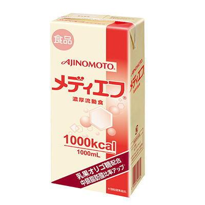 ネスレ メディエフ  紙パック  (1000kcal) 1000ml x 6 【栄養】